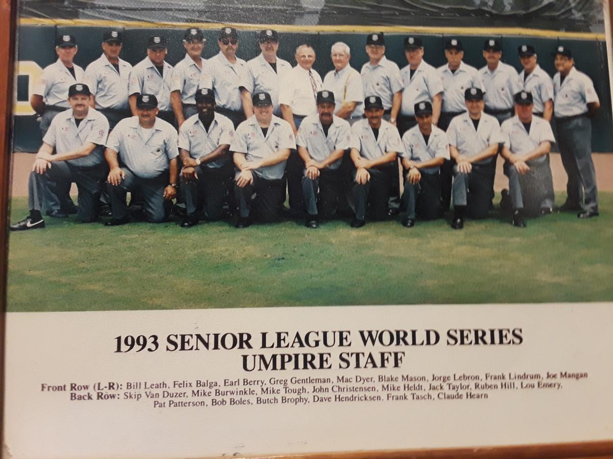 1993 Senior Baseball World Series